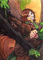 Squirrel girl atc by lizspit