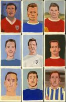 9 Footballers by Teagle