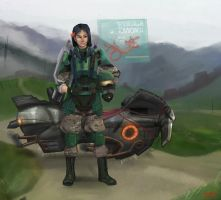 Private first class Fa Mulan by KaiserCVR