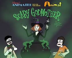 HAMR - Scary Godmother card by HewyToonmore