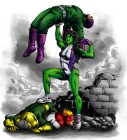 She-Hulk!!! by wildcard24