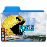 Pixels Folder Icon by gterritory