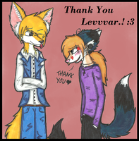 Thank You Dear Levvvar.! by Lady-Safety-Pin