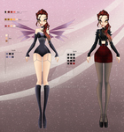 Character Adoptable - Evil Fairy CLOSED by anazgred