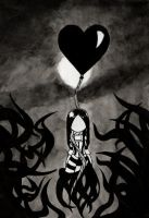 Black Balloon by House-of-Creativity