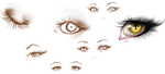 Eyes Studies #1 by Kipichuu