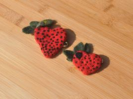 Both Strawberry Hearts by 221BFelterStreet