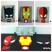 The Superhero Lamp by shaanage