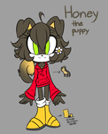 New FC! Honey the Puppy by ExoticCandi