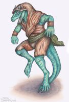Kobold Monk by Swampqueen