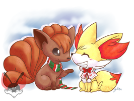 Fire Foxies by FENNEKlNS