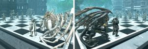 Spore chess Two strongholds by TheDarkkostas25