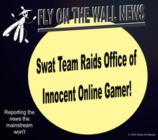 Swat Team Raids Innocent Gamer! by IAmTheUnison