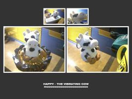 Happy - The Vibrating Cow by aash