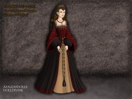 Catherine of Aragon by tvdscorpio