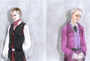 Haplo and Alfred by Tea-May