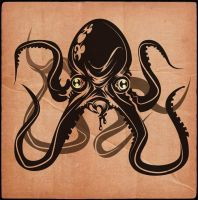 ENRAGED OCTOPUS by MY-METAL-HAND