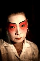 Chinese opera singer by Delun
