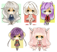 Base Chibi Batch 2 by Miivei