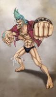 8/9 Franky by FranciscoETCHART