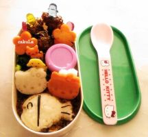 hellokitty bento by cakuli