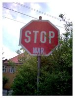 Stop War by halo8