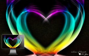 Colors of hearts by Bagdadi