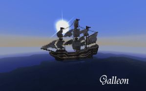 Galleon by Sillouete