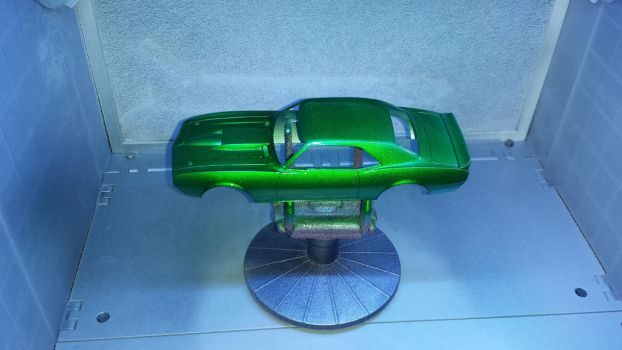 Green Camaro by awash2002