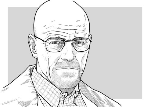 Walter White by uger