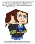 Cubeecraft - Shadowcat by CyberDrone