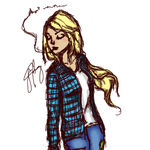 Grunge Fionna by chaela0109