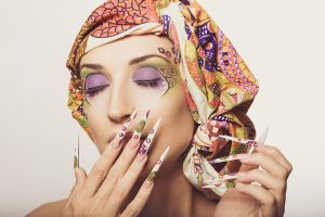 Crazy Nails by GLAMICON-NET