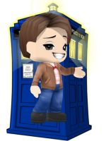 The eleventh Doctor (BuddyPoke) by LastCreater