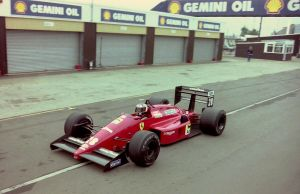 Gerhard Berger (Great Britain Tyre Test 1988) by F1-history