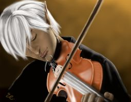 Composing-Fenris by ekocentric