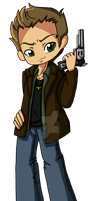 Dean Winchester bookmark by Rena-Muffin