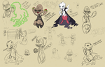 The Villainous Masters of all Villainy by CyndersAlmondEyes