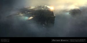 Skrell Afterearth Ships by emanshiu
