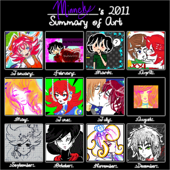 2011 Summary Art by tcgMinuet