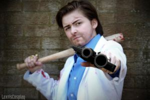 Left 4 Dead 2 - Nick Cosplay 03 by Luxris