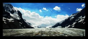 Ice, Sky and Mountains by redneckbond
