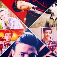 Collage Grant Gustin by FriEvans