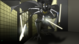 Grievous Batman by AwesomeDisease
