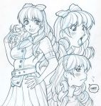 Pencils for illo of CRYAMORE's Bliss by AdamWarren