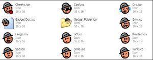 Gadget Icon Set v1 by jellybeansoup