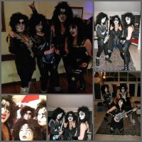 So me and my family dressed up as Kiss... by KatintheAttic