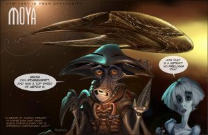 How fast is your spaceship? Farscape by Loopydave