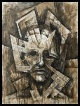 Edification of Faces n.2 by Trez-Art