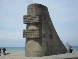 This monument on the beach by Gallerica